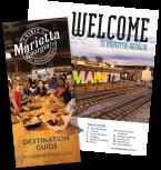 Marietta Destination guide 2020 cover and interior